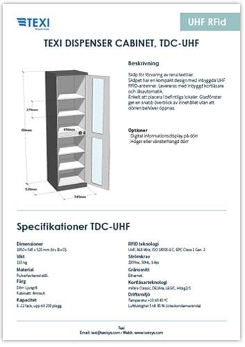 Produktblad-TDC-UHF