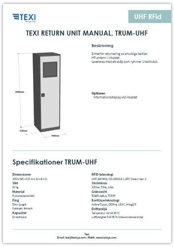 Produktblad-TRUM-UHF